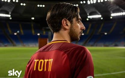 Serie tv Sky su Totti: ecco la prima foto dal set