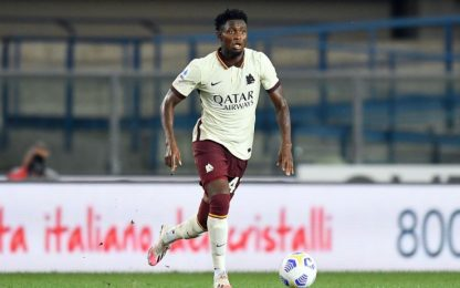 La Roma paga l'errore Diawara: 3-0 per il Verona