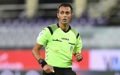 Roma-Juve a Di Bello: gli arbitri della 2^ g. di A