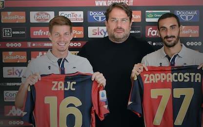 """Zajc e Zappacosta: """"Impossibile dire no al Genoa"""""""