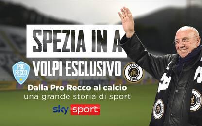 Speciale Spezia: Volpi, dalla Pro Recco al calcio