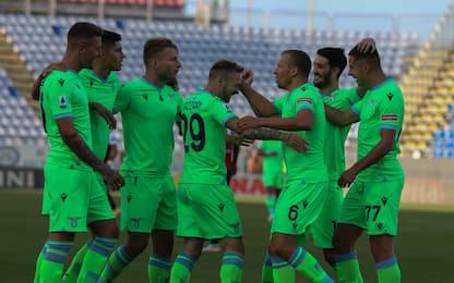 Lazzari-Immobile, la Lazio vince 2-0 a Cagliari