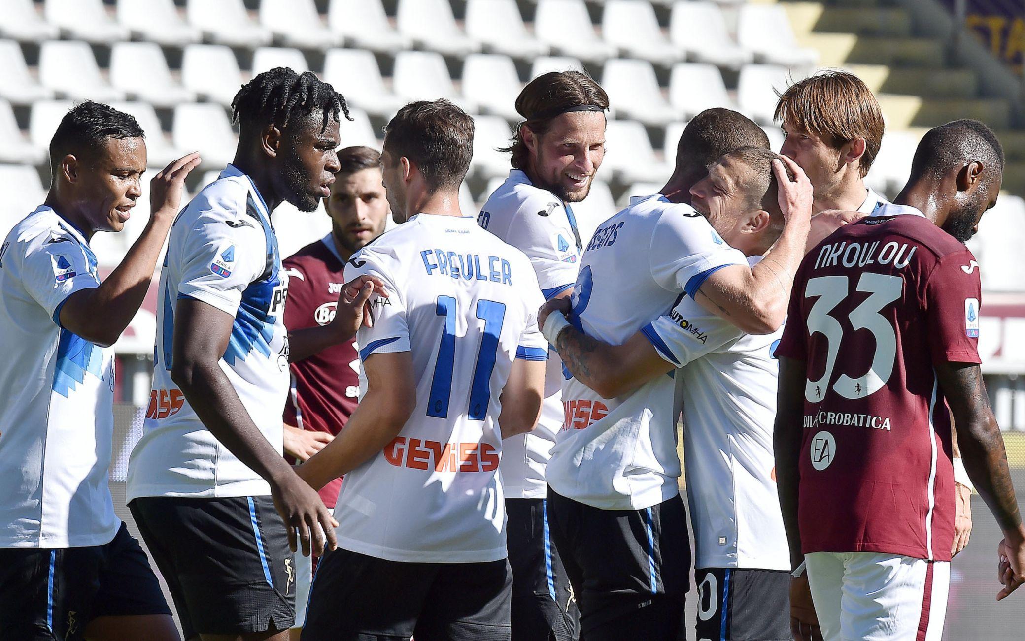 Torino-Atalanta 2-4: gol e highlights. A segno Gomez, Muriel ...