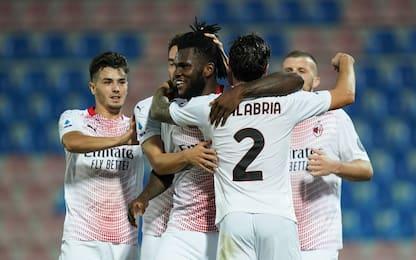 Crotone-Milan 0-1 LIVE: sblocca Kessié su rigore