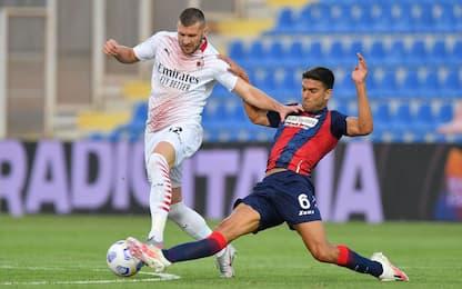 Crotone-Milan 0-0 LIVE: traversa di Kjaer