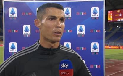 """Ronaldo: """"Con Pirlo la squadra è più contenta"""""""