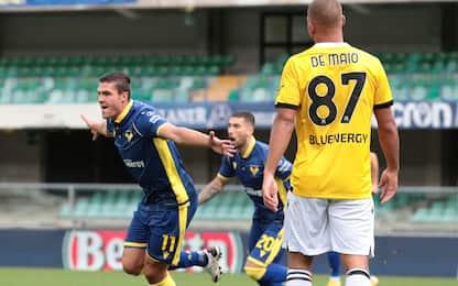 Favilli punisce l'Udinese: il Verona vince 1-0