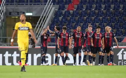 Doppio Soriano, grande Bologna: Parma battuto 4-1