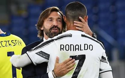 Pirlo e il rebus Juve: Ronaldo è l'unica certezza