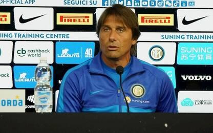 Inter, la conferenza stampa di Conte LIVE