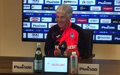 """Gasperini: """"Scudetto? A oggi solo Juve e Inter"""""""