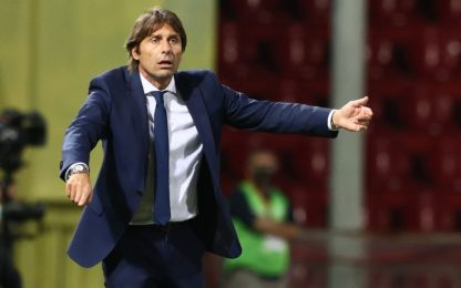 "Conte: ""Questa Inter mi diverte"""