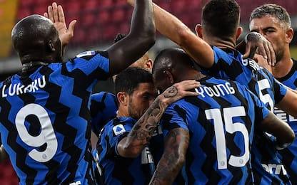 Inter show: 5-2 al Benevento, in gol anche Hakimi