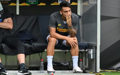Benevento-Inter LIVE: Lautaro parte dalla panchina