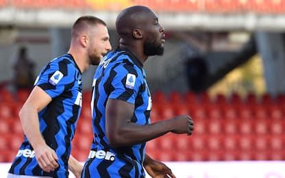 Benevento-Inter 0-1 LIVE: Lukaku subito a segno
