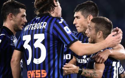 Lazio-Atalanta 0-3 LIVE: Gomez segna il terzo gol