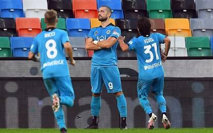 Udinese-Spezia 0-2: doppietta di Galabinov