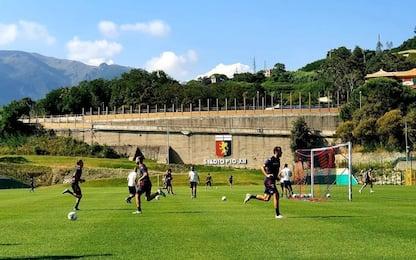 Genoa, cancellato l'allenamento del mattino