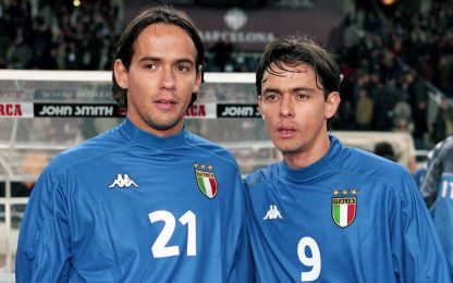 """L'11 ideale dei fratelli Inzaghi: """"In attacco noi"""""""