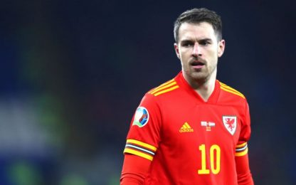 Ramsey ko col Galles: torna a Torino per gli esami
