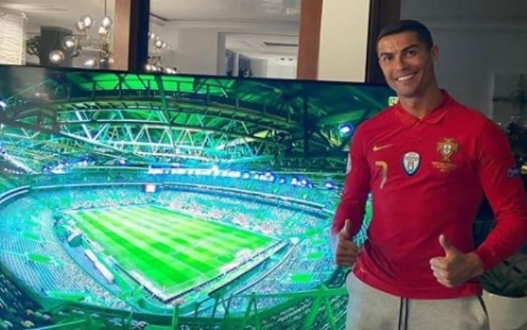 Cristiano Ronaldo, la quarantena da coronavirus sarà in Italia: le news |  Sky Sport