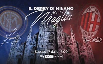 Derby Milano, la copertina di Sky Sport. VIDEO
