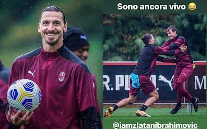 """Maldini Jr e lo 'scontro' con Ibra: """"Sono vivo"""""""