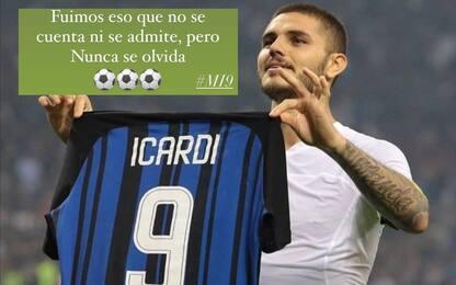 "Icardi ricorda i 3 gol al Milan: ""Mai dimenticare"""