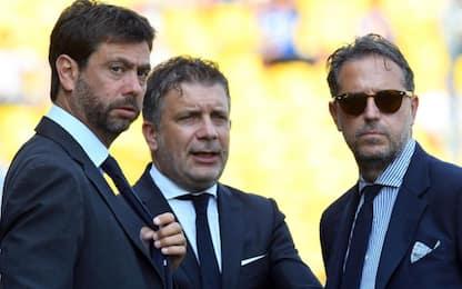 Paratici resta, Cherubini nuovo Football Director