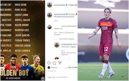 Golden Boy, Zaniolo ringrazia ma è la lista 2019