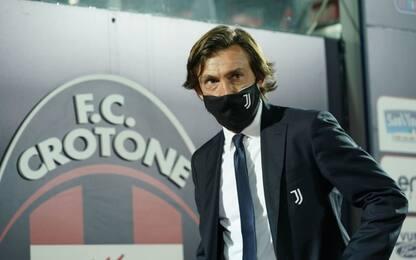 """Pirlo: """"La Juve è in costruzione, dateci tempo"""""""