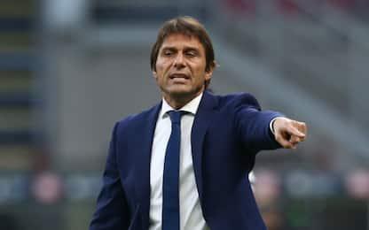"""Conte: """"Gran partita, Milan bravo ma fortunato"""""""