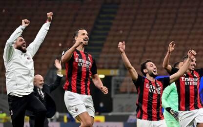 Ibra decide il derby: 2-1 e Milan da solo in vetta