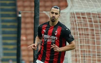 Ibra, 8 gol nel derby in A: solo tre meglio di lui