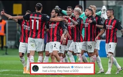 """Ibra risponde a Lukaku: """"Milano non ha Re, ha Dio"""""""