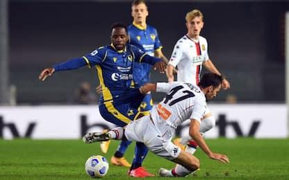 Il Genoa 'resiste': 0-0 con il Verona al Bentegodi