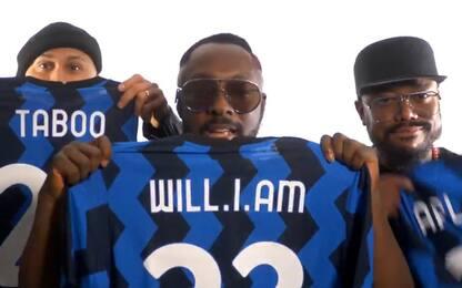 "Black Eyed Peas 'tifosi' interisti: ""Grazie Vidal"""