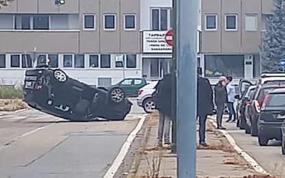 Incidente d'auto per il papà di Kulusevski