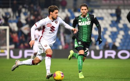 Sassuolo-Torino, dove vedere la partita in tv
