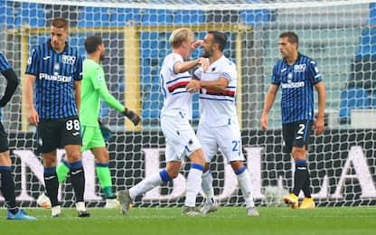 L'Atalanta cade ancora: colpo Samp, 3-1 a Bergamo