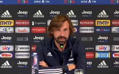 """Pirlo: """"Dybala gioca dall'inizio"""""""