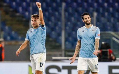 Luis Alberto-Immobile, 2-1 Lazio sul Bologna
