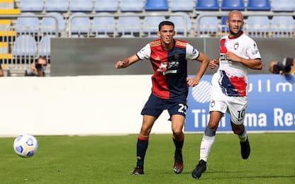 Cagliari-Crotone 2-1 LIVE: Simeone la ribalta