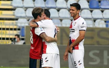 Cagliari-Crotone 3-2 LIVE: Sottil segna di testa