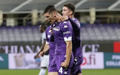 Fiorentina-Udinese 2-0 LIVE: raddoppia Milenkovic