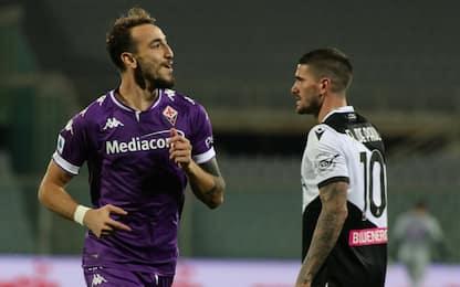 Castrovilli trascina la Viola: 3-2 all'Udinese