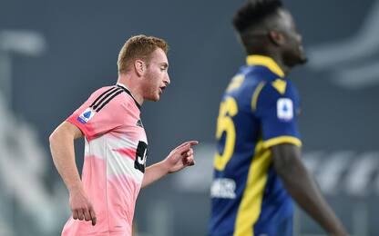 Kulusevski-gol, altro pari Juve: 1-1 col Verona