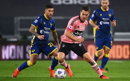 Juve-Verona 0-0 LIVE: Bernardeschi pericoloso