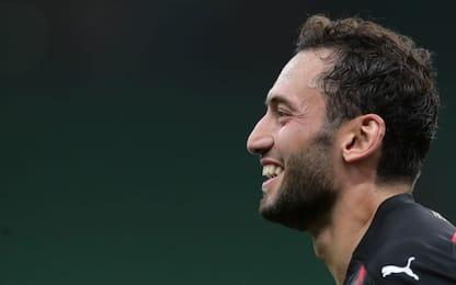 Milan-Roma, Calhanoglu recupera a tempo di record