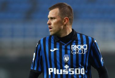 BERGAMO, ITALY - OCTOBER 24:  Josip Ilicic of Atalanta BC looks on during the Serie A match between Atalanta BC and UC Sampdoria at Gewiss Stadium on October 24, 2020 in Bergamo, Italy.  (Photo by Marco Luzzani/Getty Images)